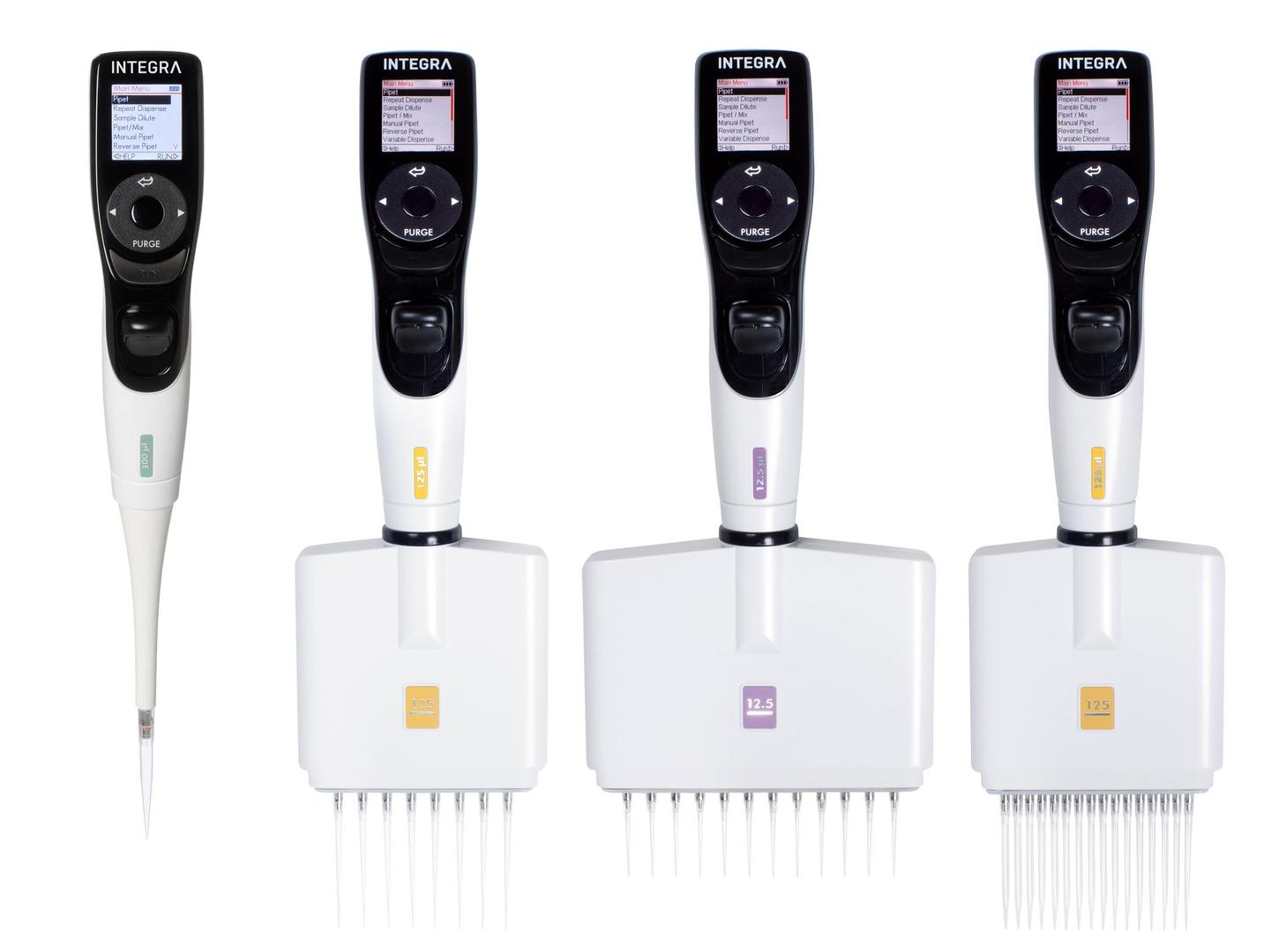 VIAFLO single and multichannel electronic pipettes