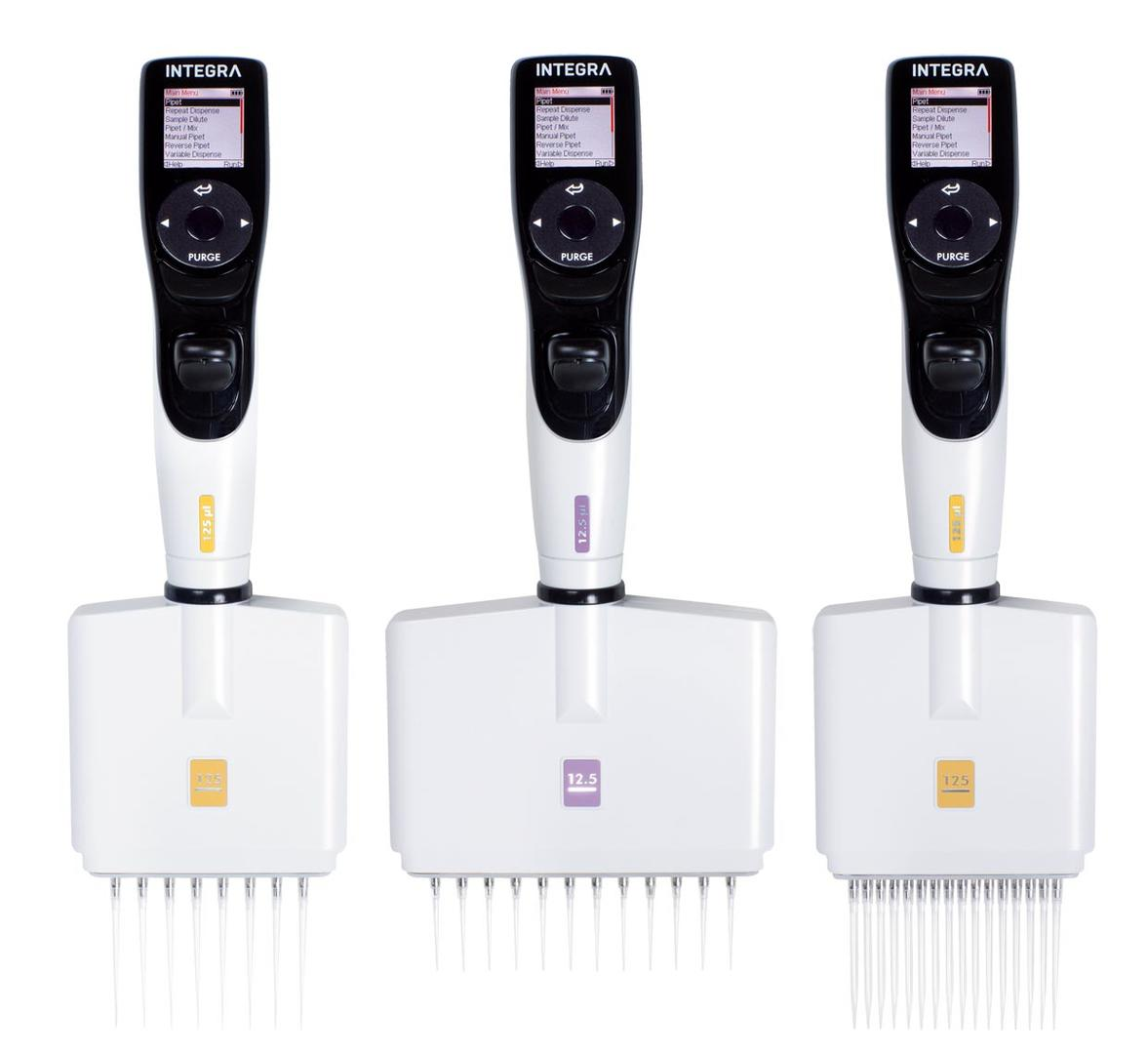 VIAFLO II multichannel electronic pipettes
