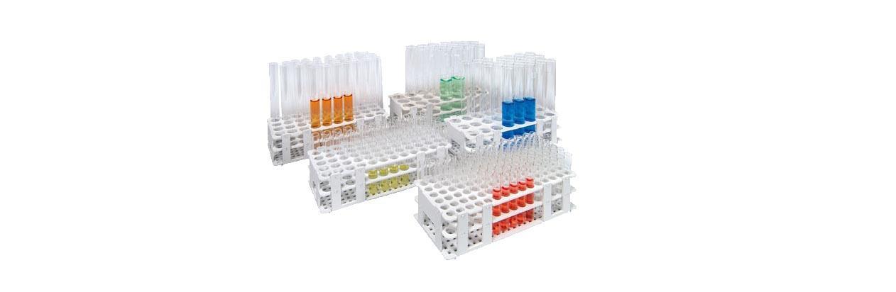 TUBEFILLER test tube racks