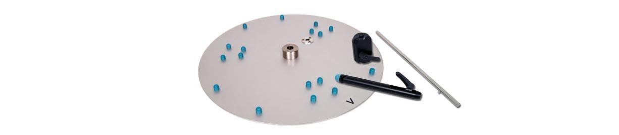 Tubefiller accessories for MEDIAJET Petri dish filler