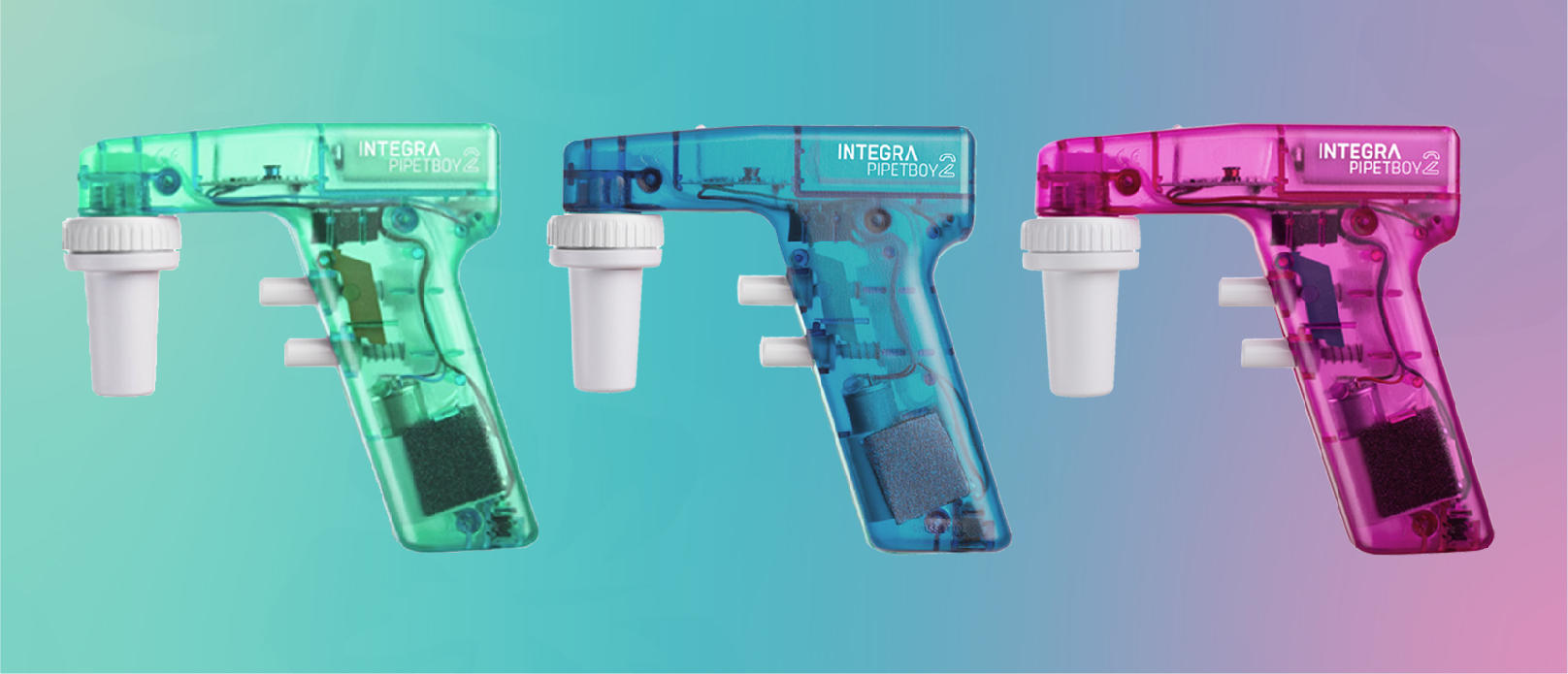 Three PIPETBOY acu 2's in the new LIMITED EDITION SUMMER COLORS