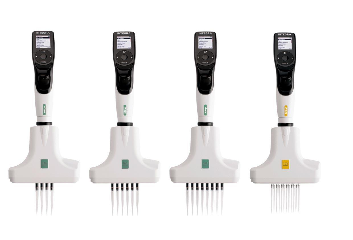 VOYAGER adjustable tip spacing pipettes