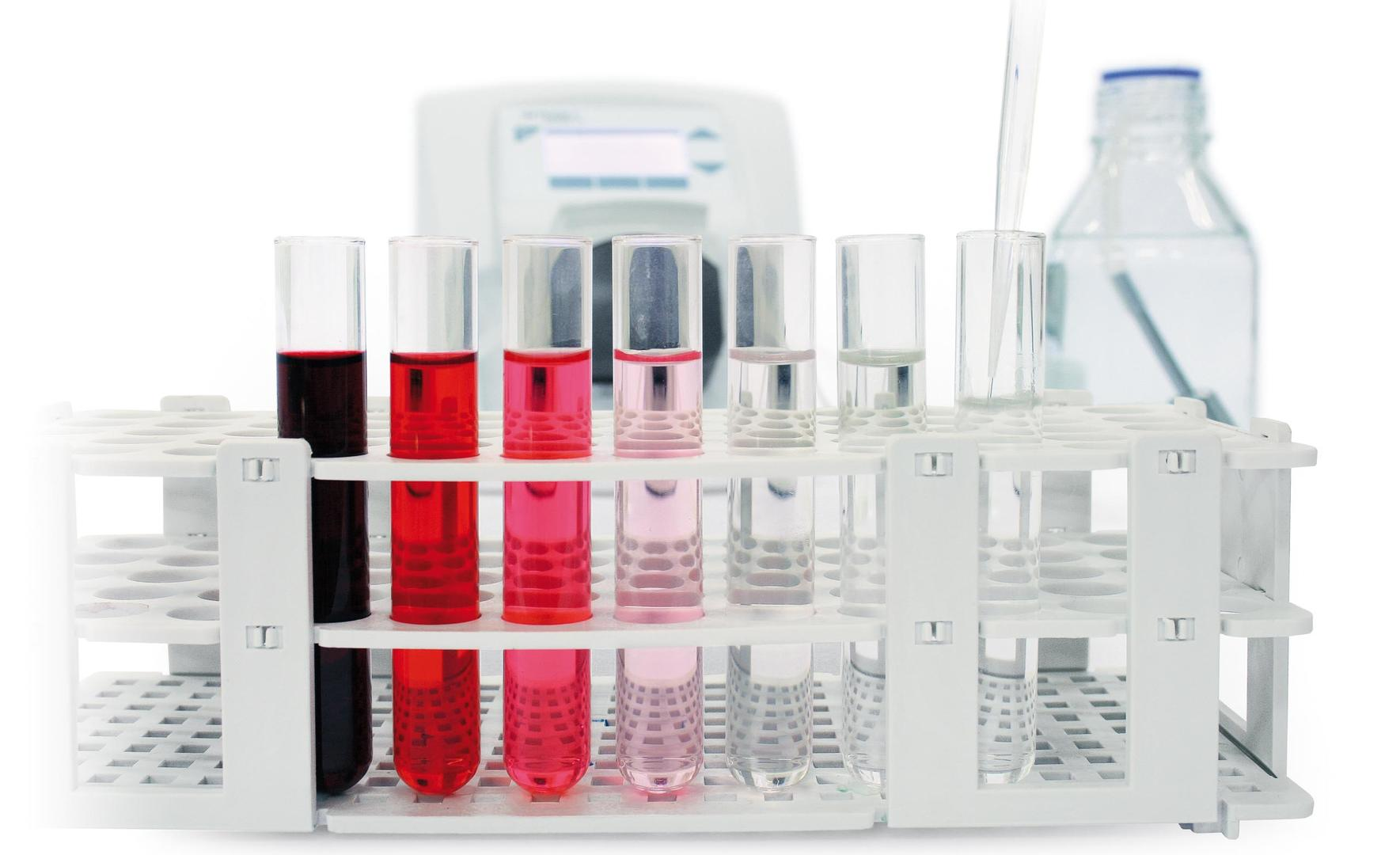 Serial dilutions using DOSE IT peristaltic pump
