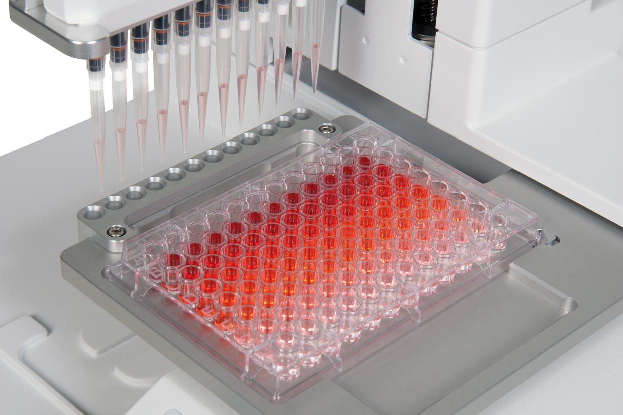 Serial Dilution using ASSIST pipetting automation system