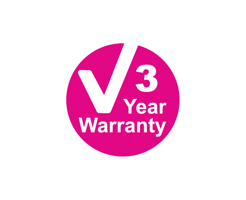 PIPETGIRL 3 year warranty symbol