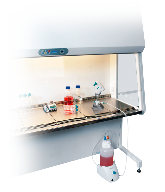 nti-drip system prevents liquid waste leakage from the tip or pipette