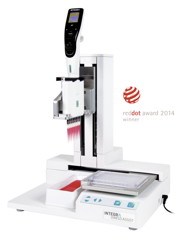 ASSIST Automated Pipetting System - Red Dot Winner