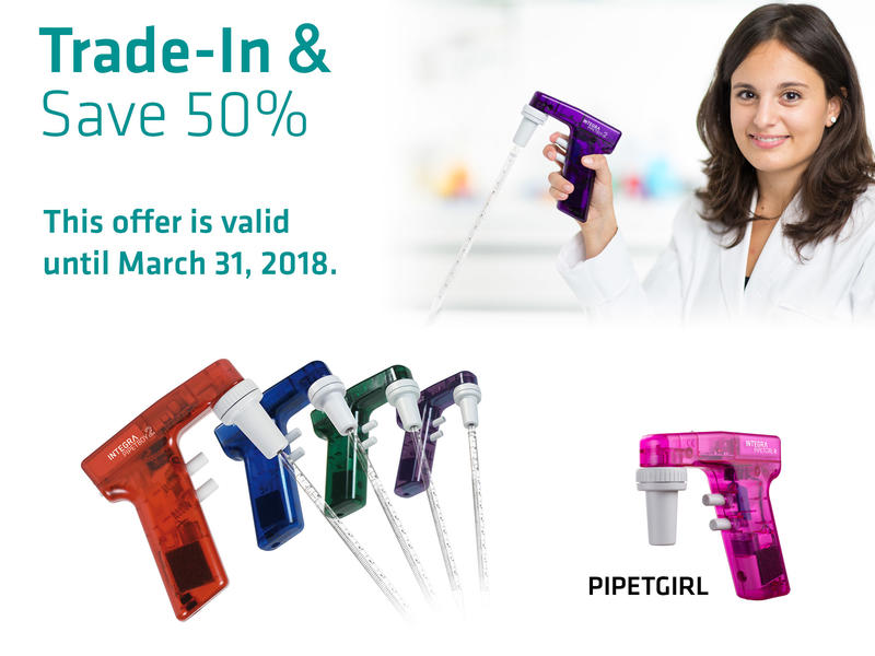 Receive 50 % discount on PIPETBOY acu 2 and PIPETGIRL