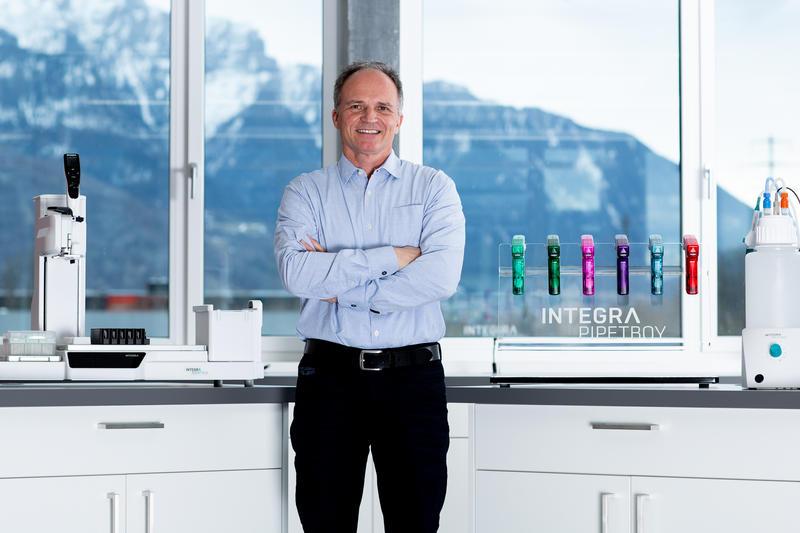 Urs Hartmann CEO INTEGRA Biosciences