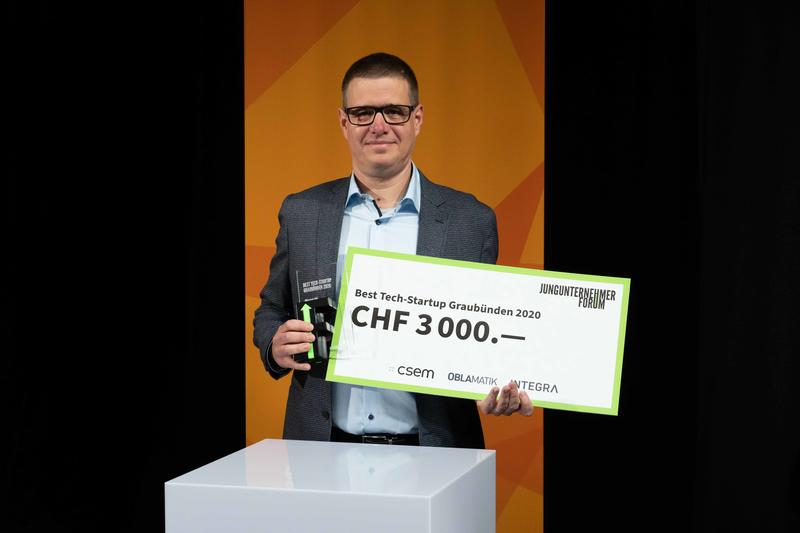 Alunos AG is Grisons Tech Start-up of the Year