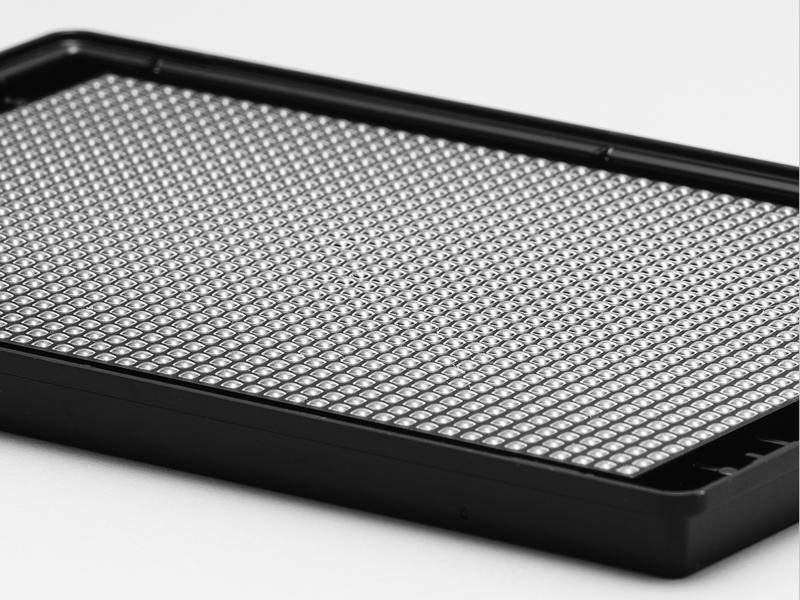 Corning® 1536-well Black/Clear Round Bottom Ultra-low Attachment Spheroid Microplate, with Lid, Sterile