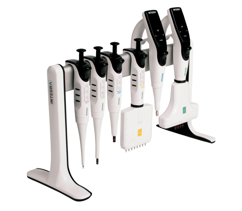 Linear stand for INTEGRA pipettes