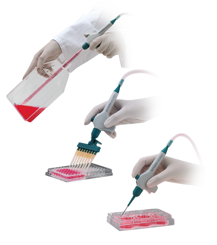 VACUBOY hand operator is a versatile tool with large choice of adapters