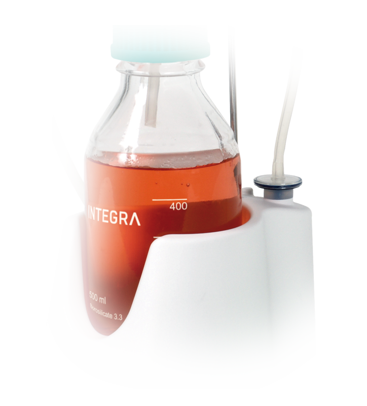 VACUSIP aspiration system features a hydrophobic filter to protect instrument and environment