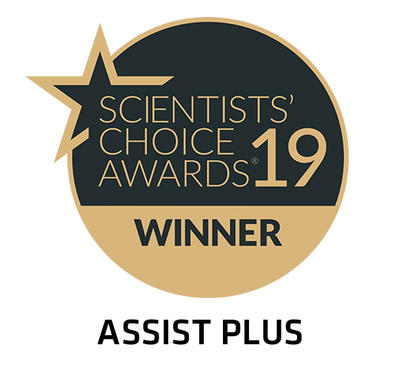 ASSIST PLUS wins the SelectScience scientist's choice awards 2019